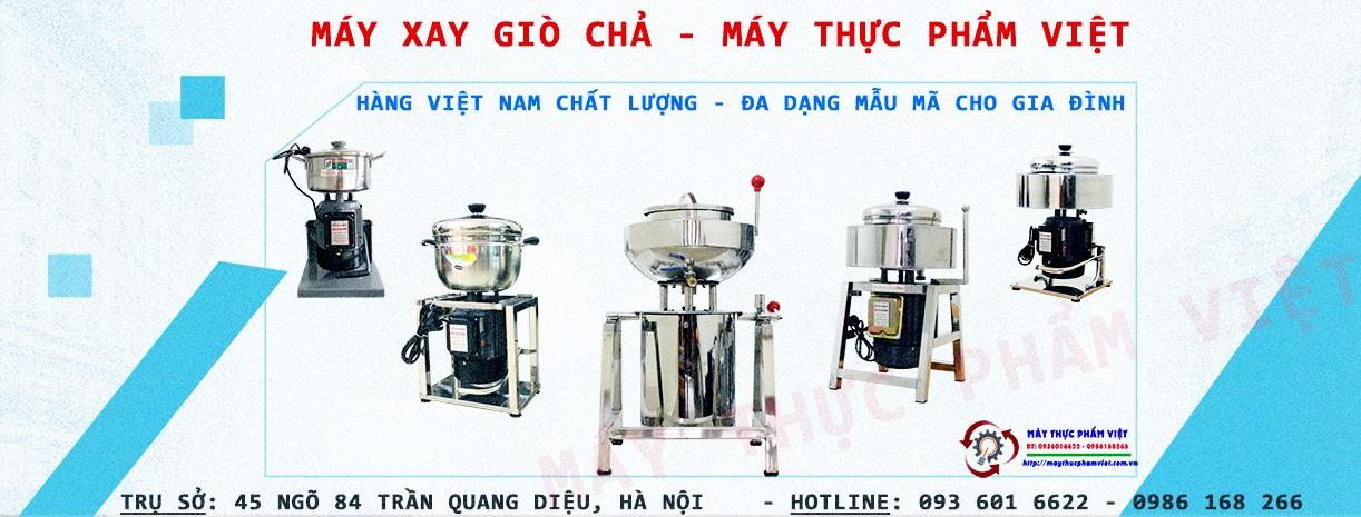 Máy xay thịt làm giò giá thấp hiệu quả cao - Máy Thực Phẩm Việt