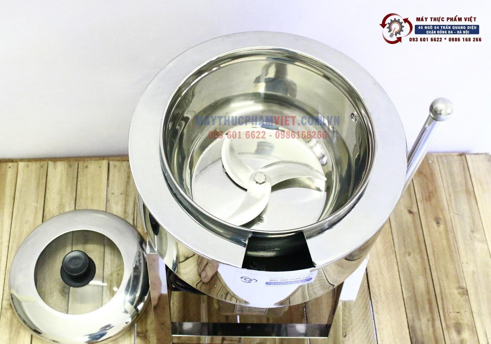 Mua máy xay giò chả mini để xay thịt làm giò chả liệu có