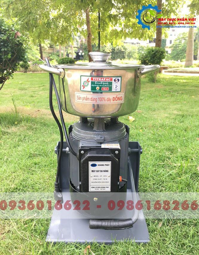 Máy xay giềng xả ớt mini 750W - Máy xay ruốc 5 lạng/mẻ