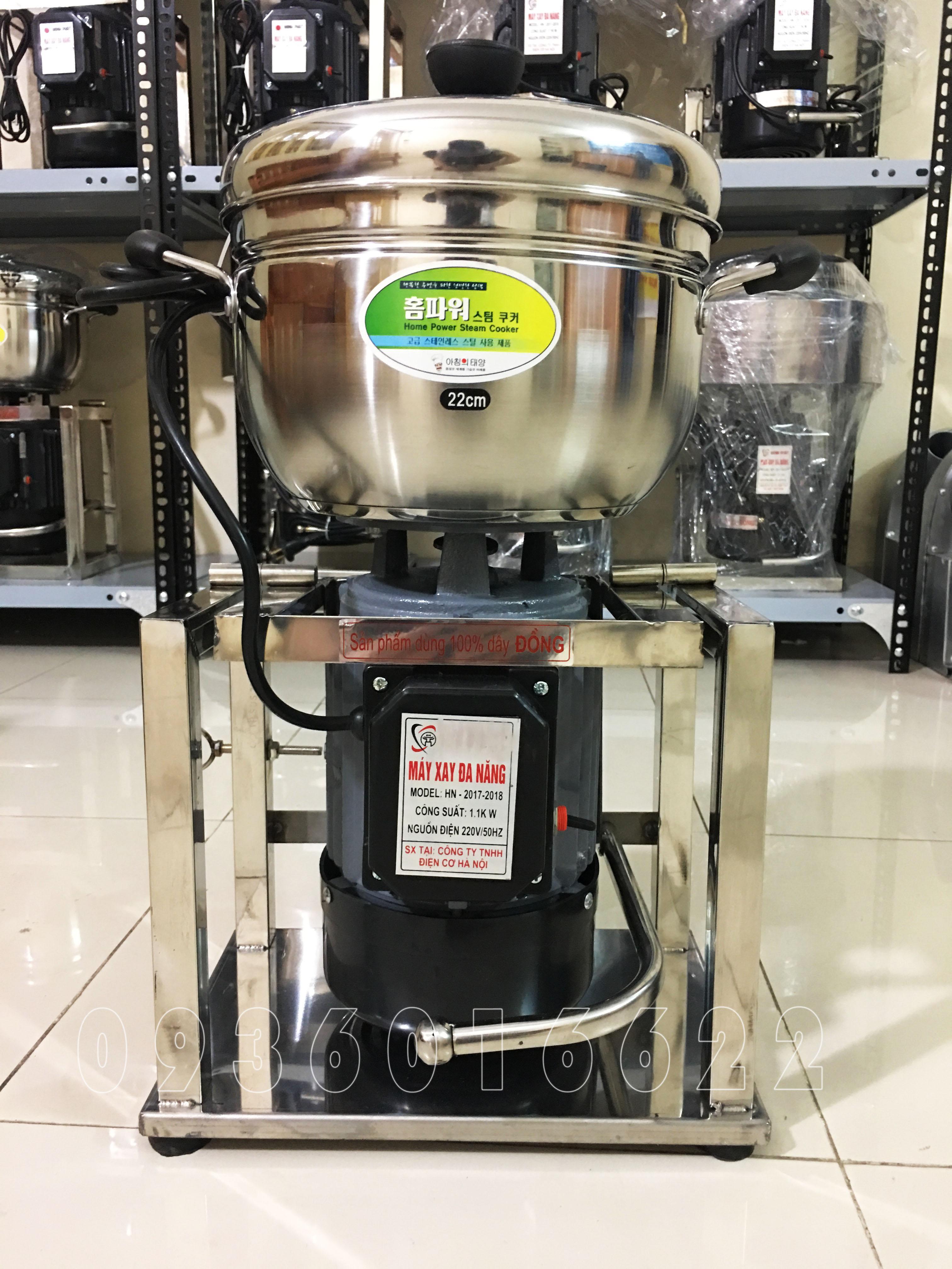 Máy xay thịt đa năng 2kg Inox - 1100W