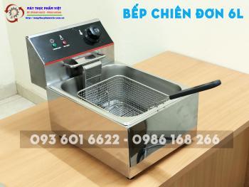 Bếp Chiên Nhúng Điện Đơn 6L - Xuất xứ Việt Nam