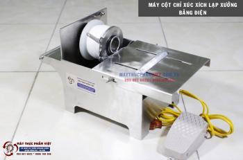Máy buộc xúc xích lạp xưởng dùng điện tự động giá rẻ